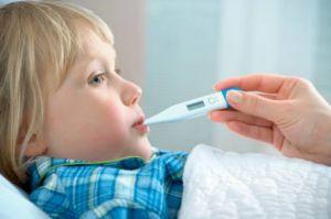 Высокая лихорадка и гоночный пульс для детей