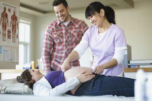Начало родов, симптомы, схватки - первые признаки приближения родов